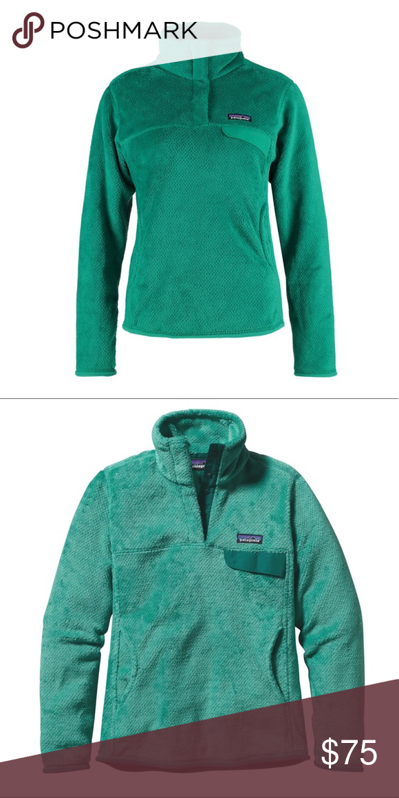 c01a399c91d Patagonia Re-Tool Snap T Pullover sweater jacket Patagonia aqua colored  pullover sweater. Size medium!Worn a handful of times. In great condition  just too ...