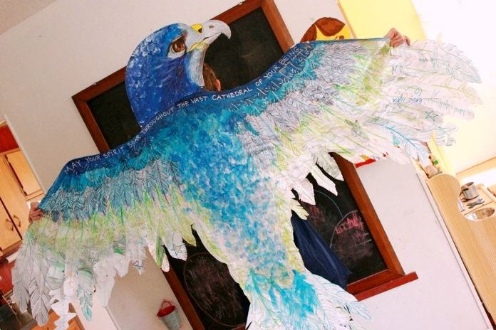 Wings of Creativity -- We need to dust off your own dreams before we can give our children wings.