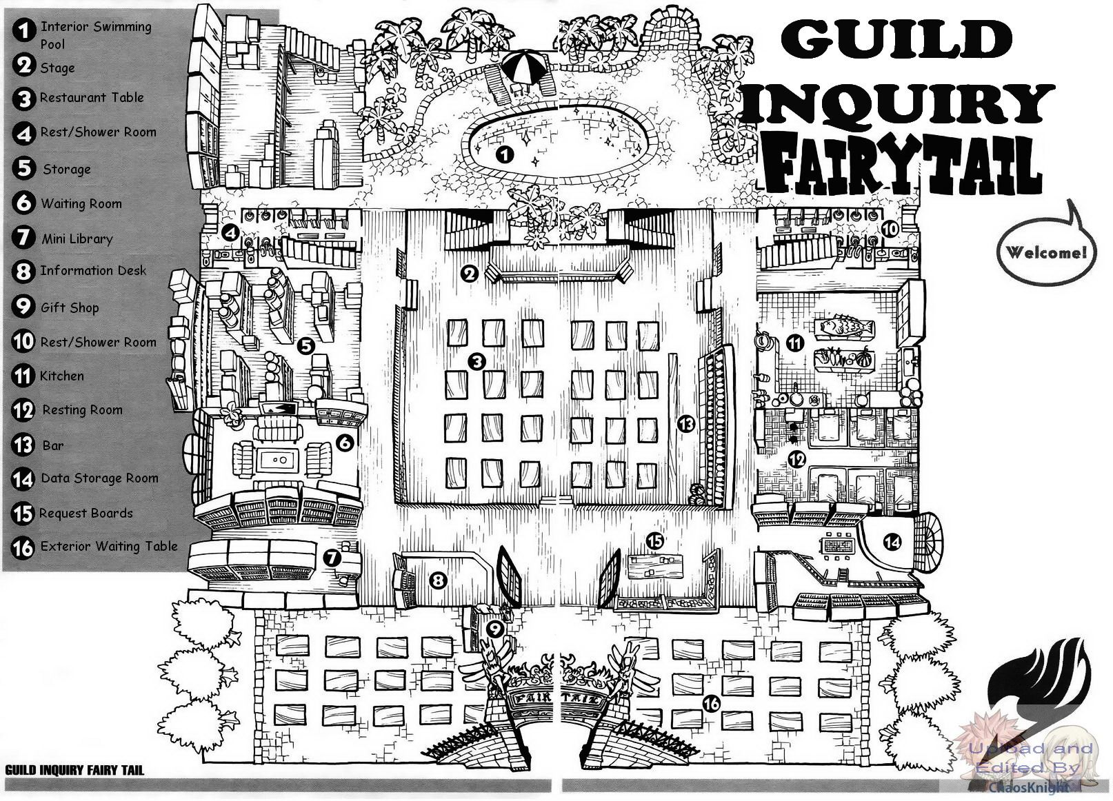 fairy tail house plans sea - Fairy Tale House Plans
