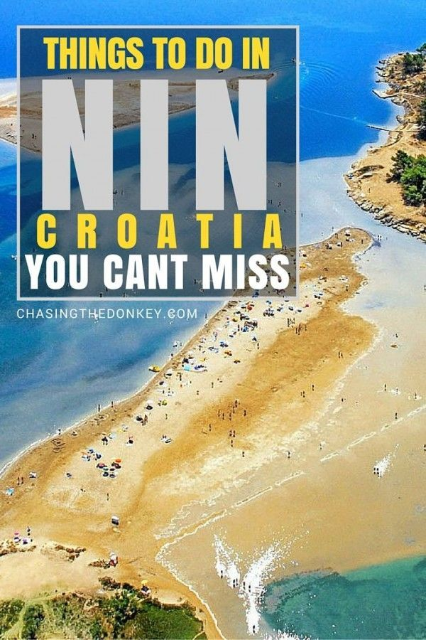 Top Things To Do In Nin Zadar Croatia Travel Cool Places