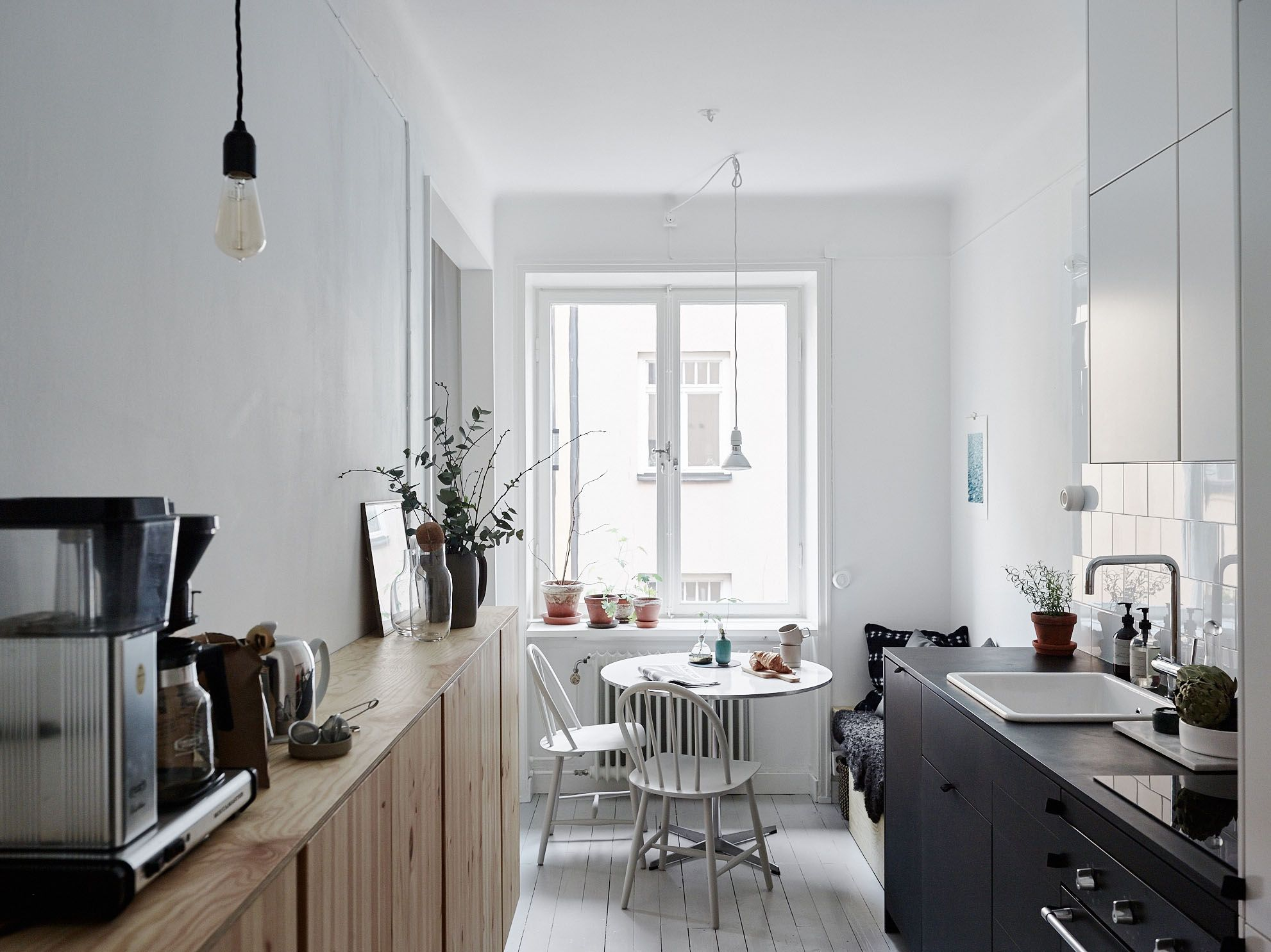 A Summery Flat in Stockholm with Affordable Small Space Ideas to Steal Remodelista