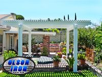 olson patio covers will not rust warp crack or rot made of