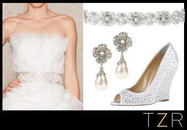 Oscar de la Renta Bridal Accessories   The Zoe Report