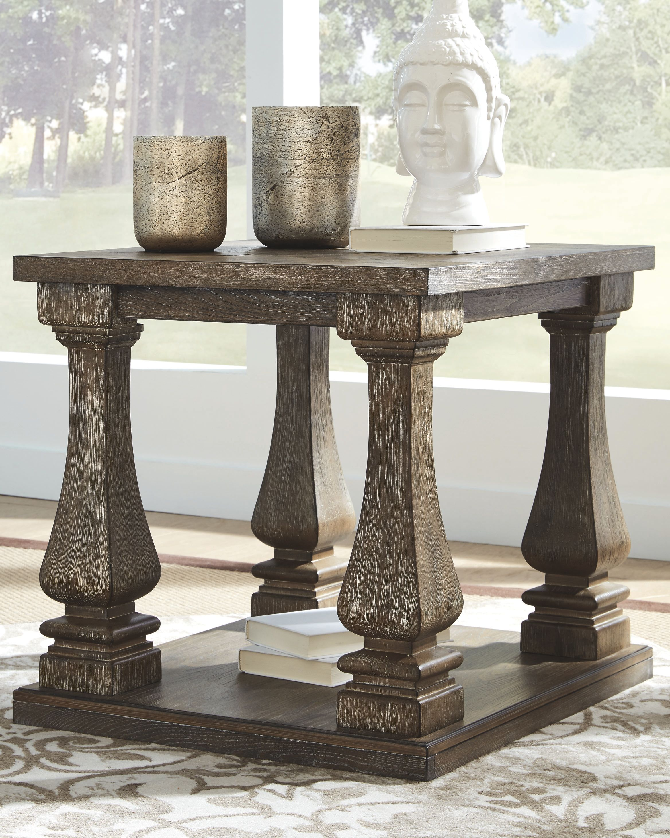 Johnelle End Table Gray End Tables Marble End Tables Living