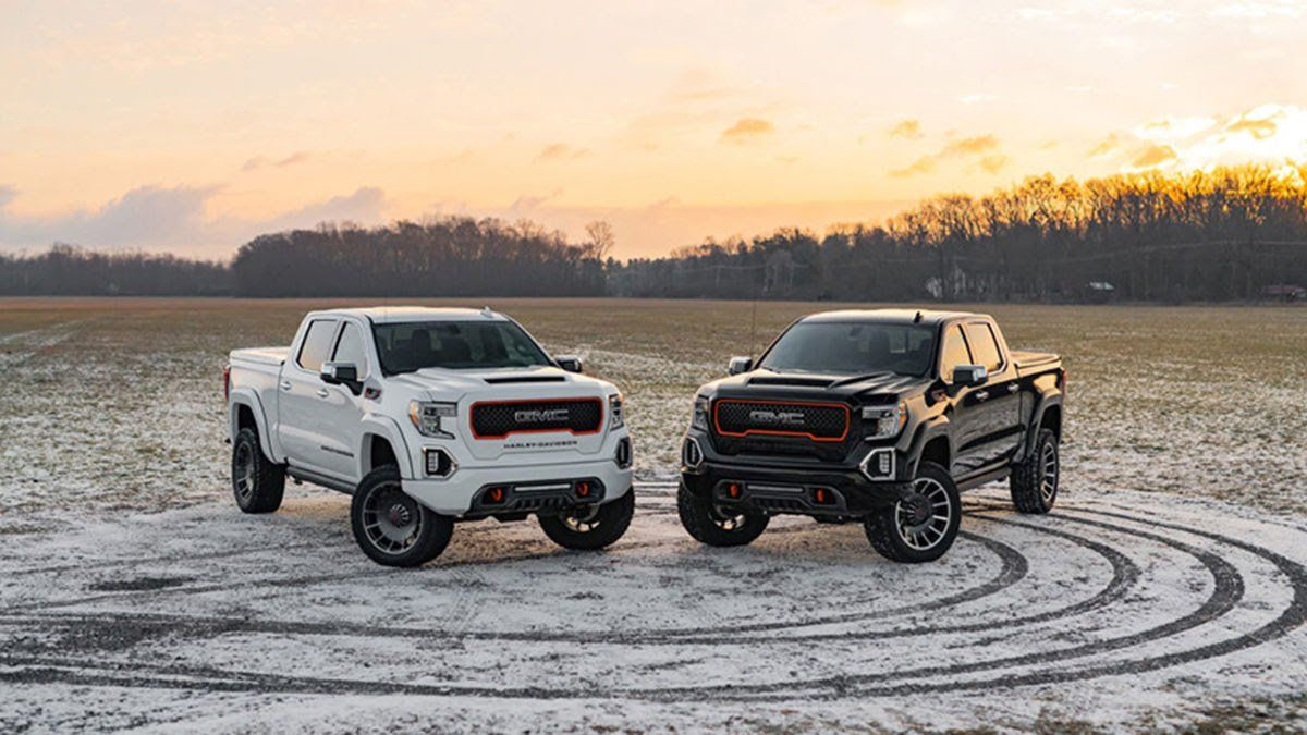 The All New 2020 Gmc Sierra 1500 Harley Davidson Available In