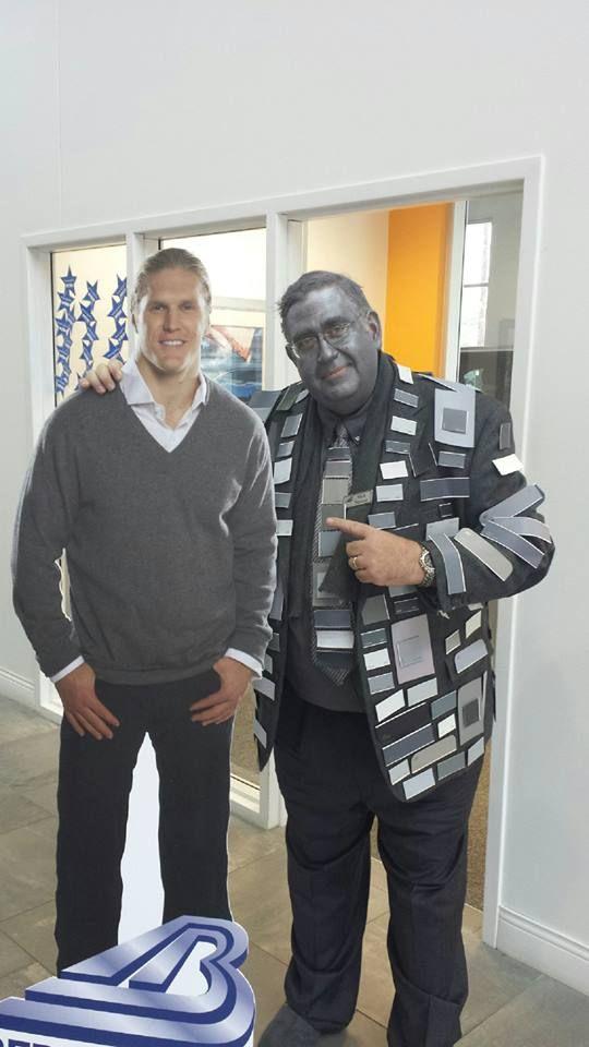 Mark Neuman As 50 Shades Of Clay Central Accounting Office Accounting Office Happy Halloween 50 Shades
