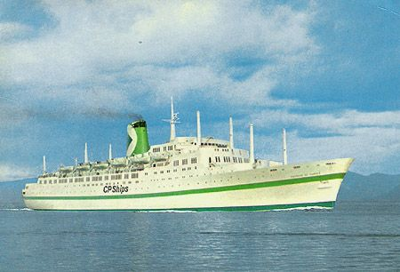 Canadian Pacific Empress Of Canada New Colours And Logo - Canadian cruise