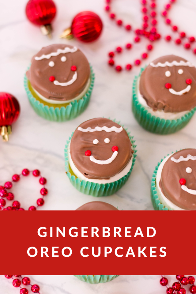 Gingerbread Oreo Cupcakes Oreo Cupcakes