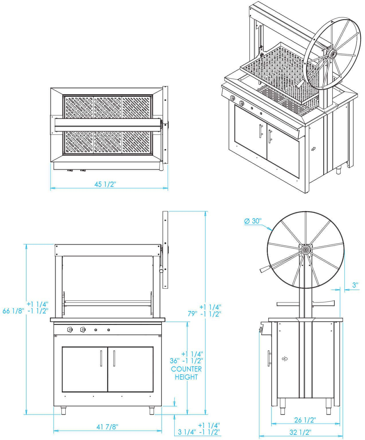 K750gb Gaucho Grill Dimensions Outdoor Kitchen Design Built In Grill Diy Grill