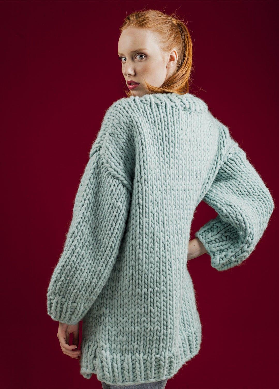 8a1234008 Knitting Kit Wool Simone Cardigan