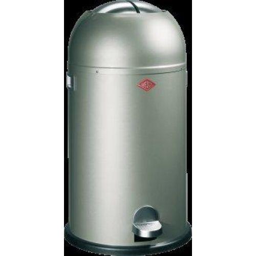 Wesco Kickmaster Zilver.33 Litre Kickmaster Waste Bin New Silver Bin