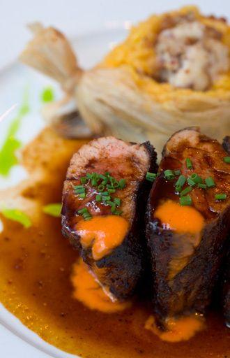 recipe: bourbon glazed pork tenderloin food network [6]