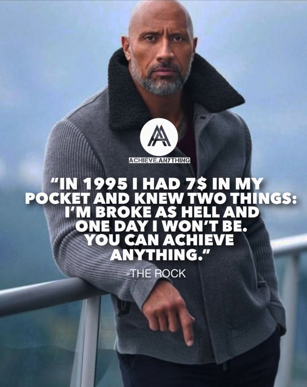 In 1995 I had $7 bucks in my pocket and knew two things: I'm broke as hell and one day I won't be
