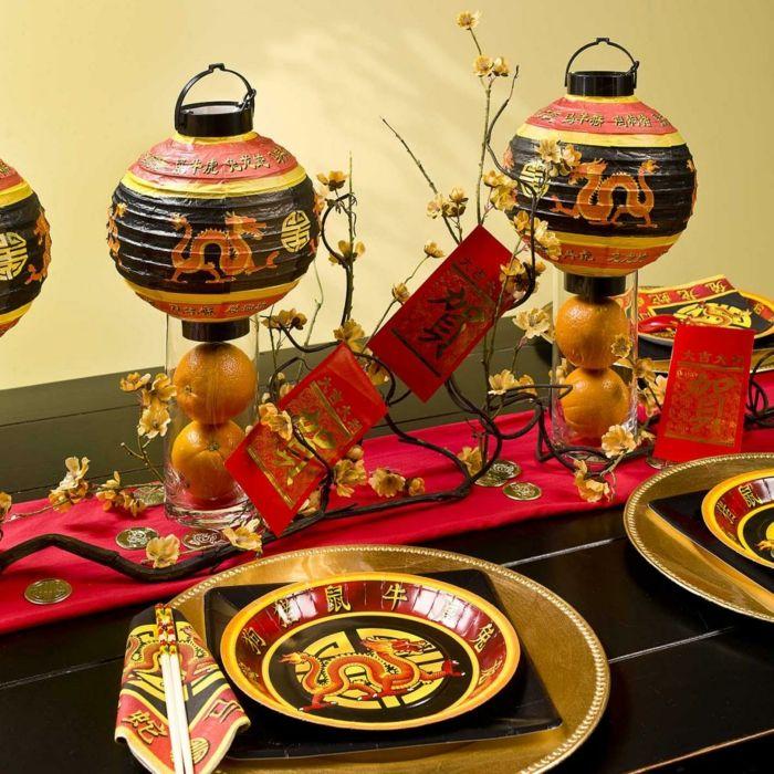 Einrichtungsbeispiele Raumgestaltung Wohnflair Asien Wohnung Einrichten  Einrichtungsbeispiele Asian China Deko Ideen