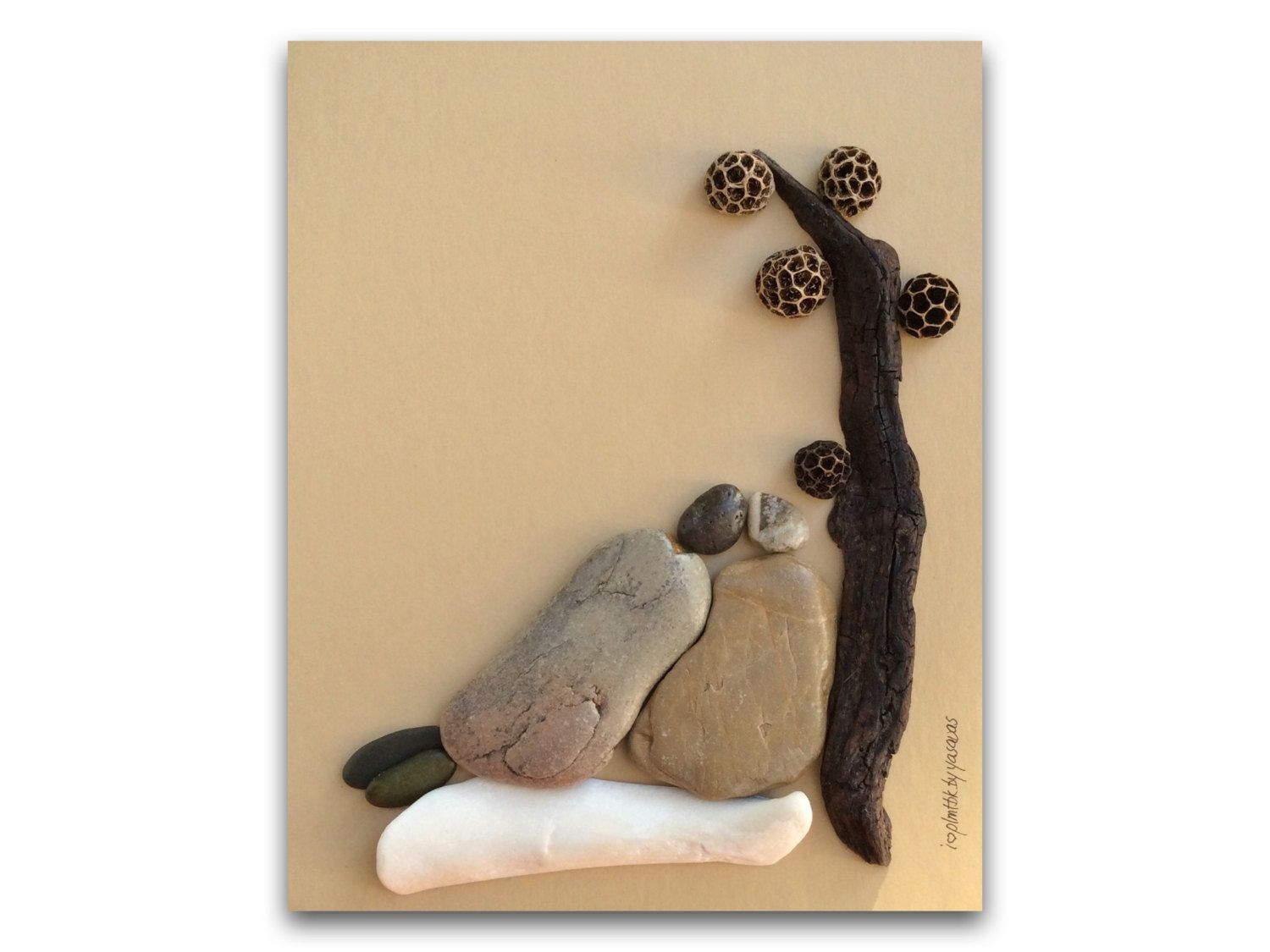 Pebble Art , i love plmtbk by yasavas | sanatsal | Pinterest ...