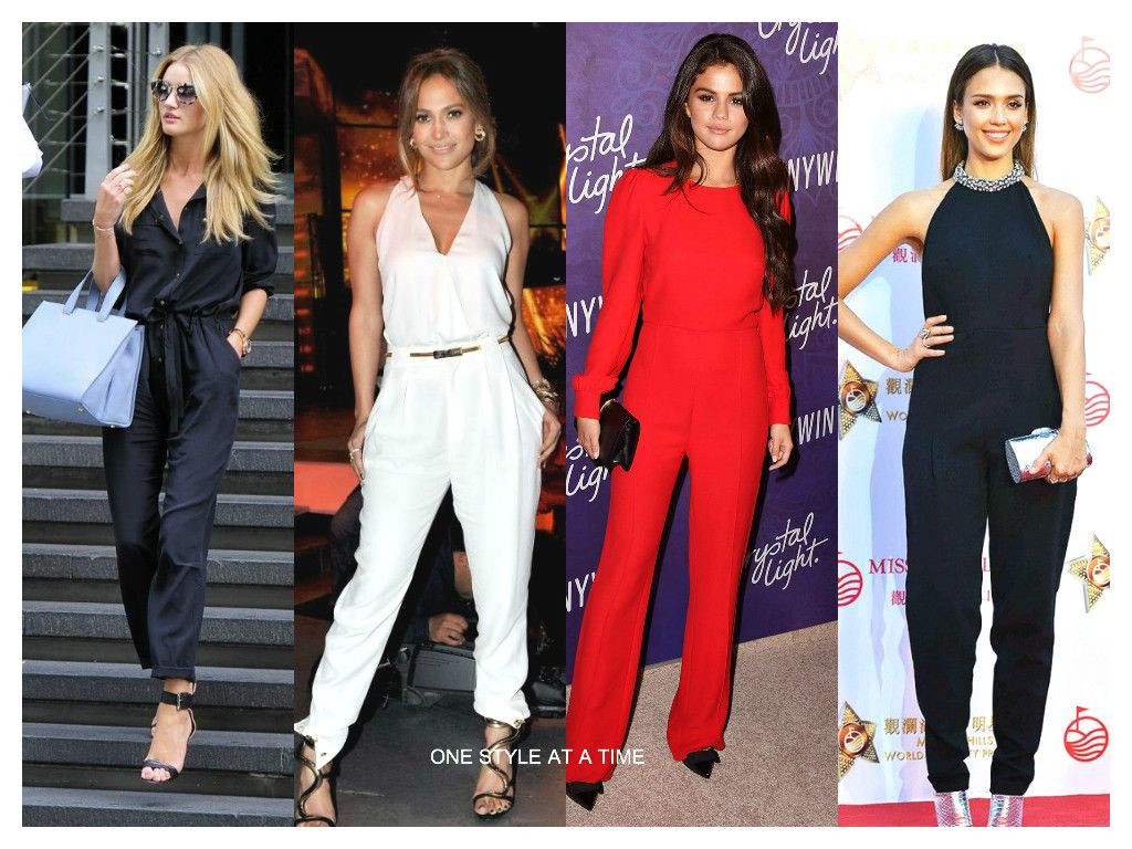 TREND: JUMPSUITS FOR SPRING 2015