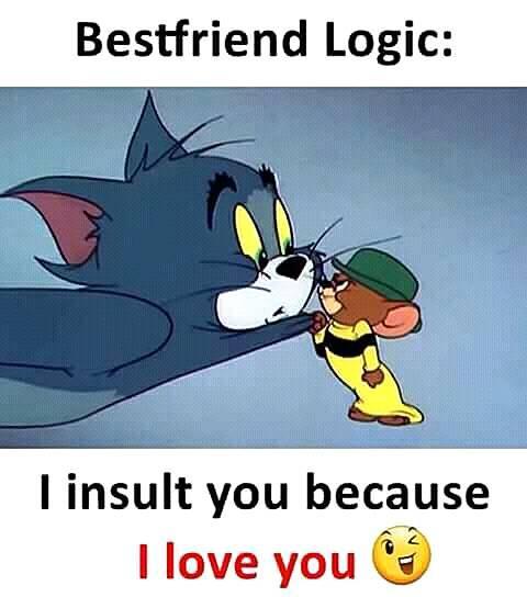 I Love You Friend Funny Memes