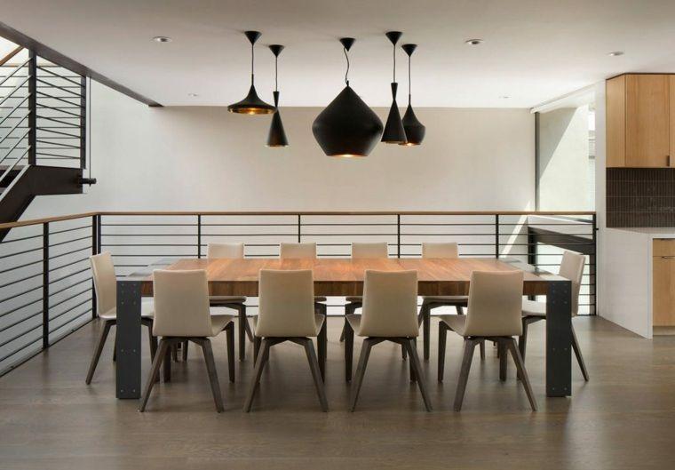 Salle à manger moderne de design innovant en 34 exemples Interiors