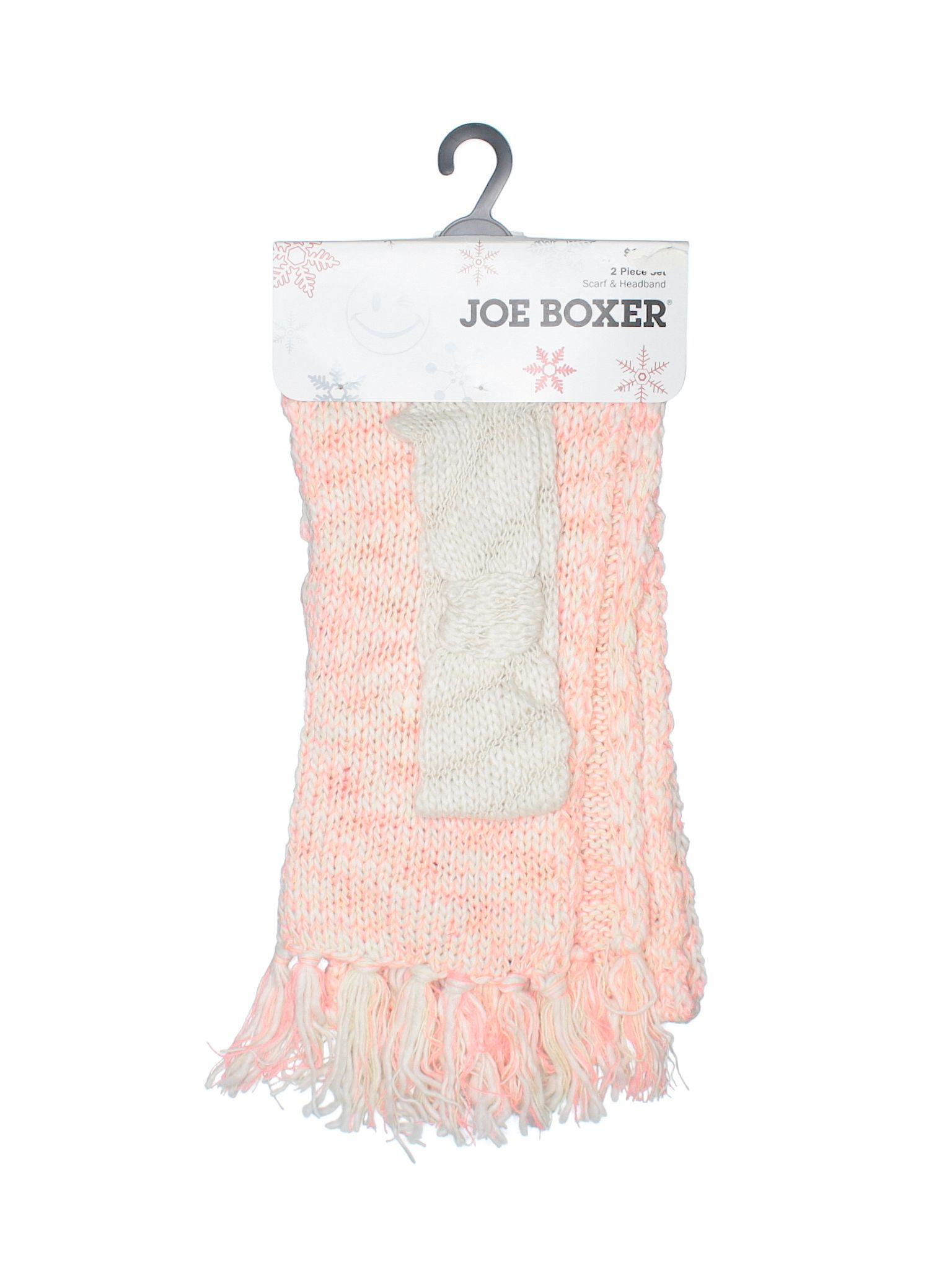 Joe Boxer Scarf Size 000 Coral Womens Accessories  New