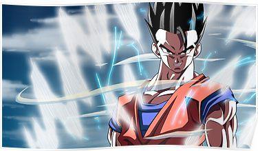 Ultimate Gohan Poster Anime Dragon Ball Z Dragon Ball