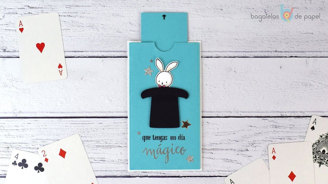 Interactive Bunny Slider Card Tutorial Used Pareja Creativa Products For This Magical