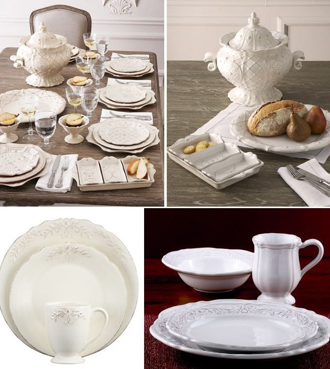 Three French-Country Style Dinnerware Sets | At Home with Kim Vallee & Three French-Country Style Dinnerware Sets | At Home with Kim Vallee ...