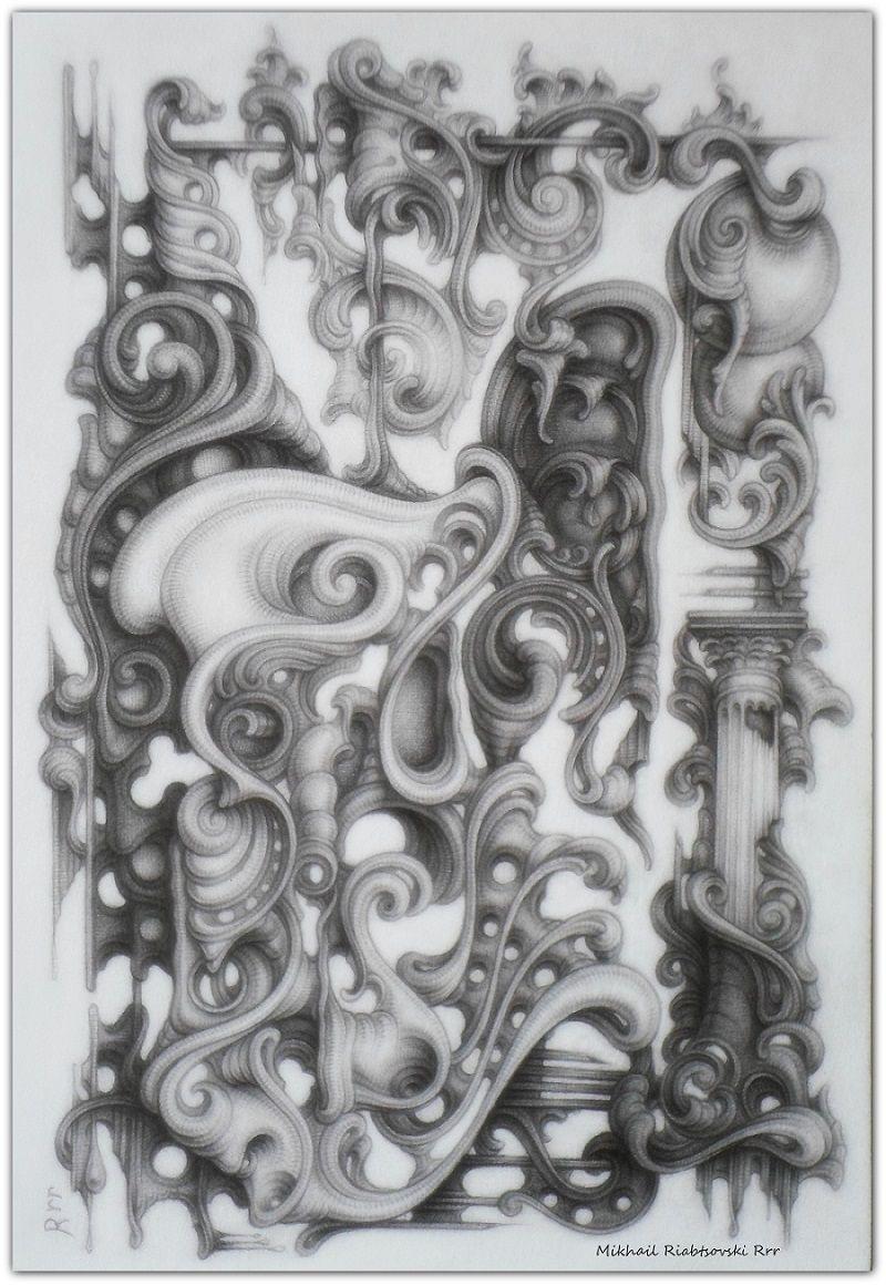 Drawing By Mikhail Riabtsovski Rrr Modern Interpretation Of The Baroque Style Art 2019 3 In 2020 Art Prints Online Art Drawings