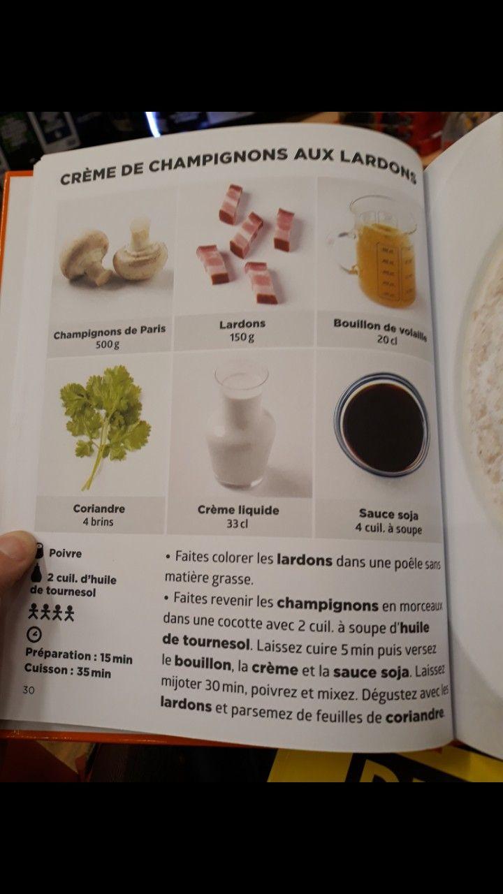 Soupe Champignon Recettes De Cuisine Recette Creme De Champignons