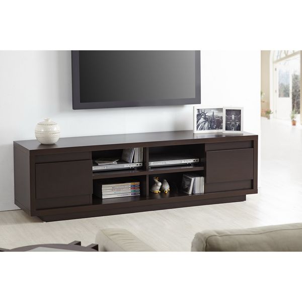 furniture of america irvine contemporary 70 inch entertainment tv console. Black Bedroom Furniture Sets. Home Design Ideas