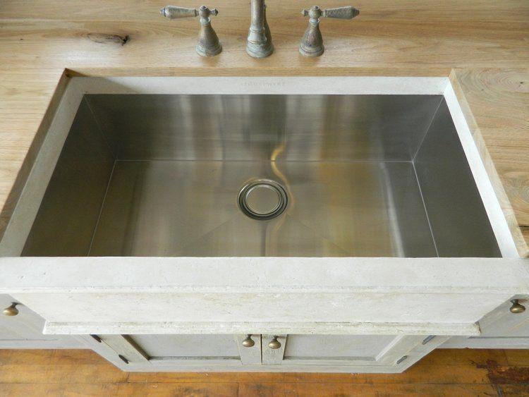 28 White Farmhouse Sink W Stainles Liner White Farmhouse Sink Farmhouse Sink Sink 28 inch farmhouse sink