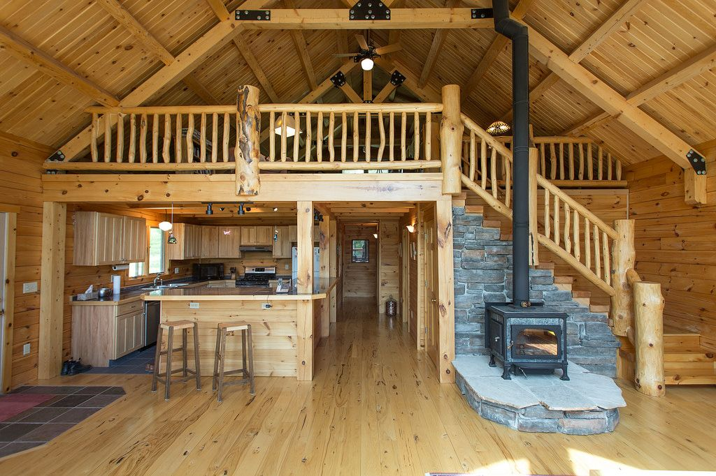 Wood Burning Stove Steamboat Lake Cabin For Sale