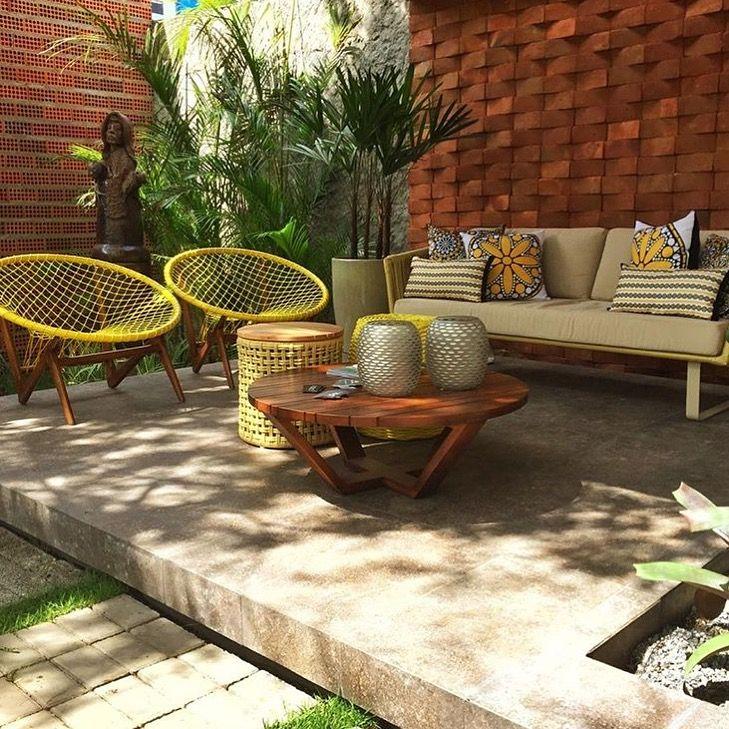 Casa cor para ba gazebo e jardim mobili rio externo for Sofa exterior jardim