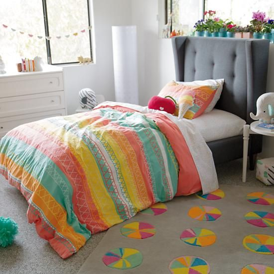 Explore our extensive collection of girls bedding and boys bedding at Land  of Nod.