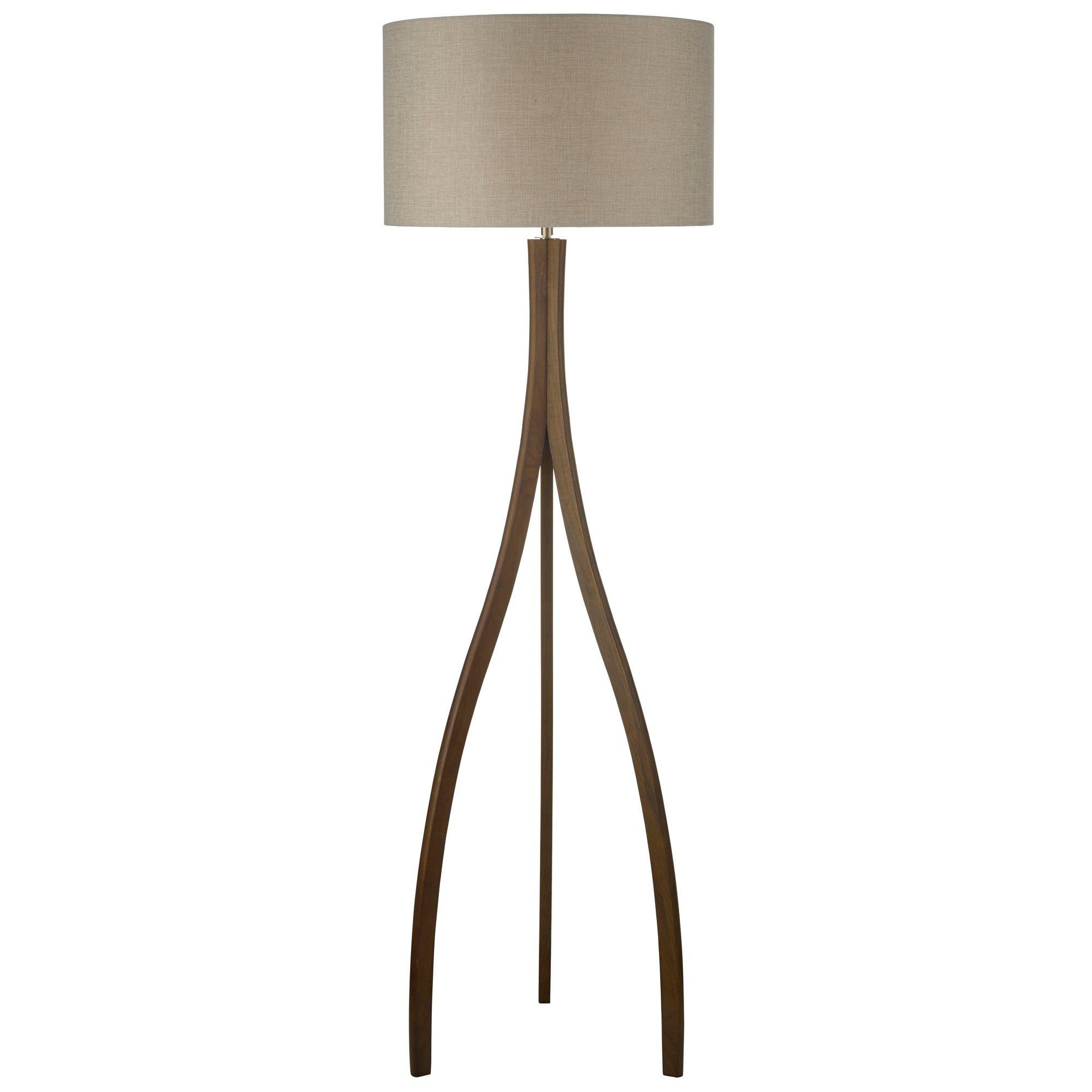 Wooden 'Kade' floor lamp Floor lamp, Lamp, Classic decor