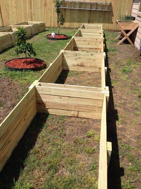Weekend Diy Project Raised Garden Beds Gardening Jardines