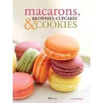 Livro - Macarons, Brownies, Cupcakes E Cookies
