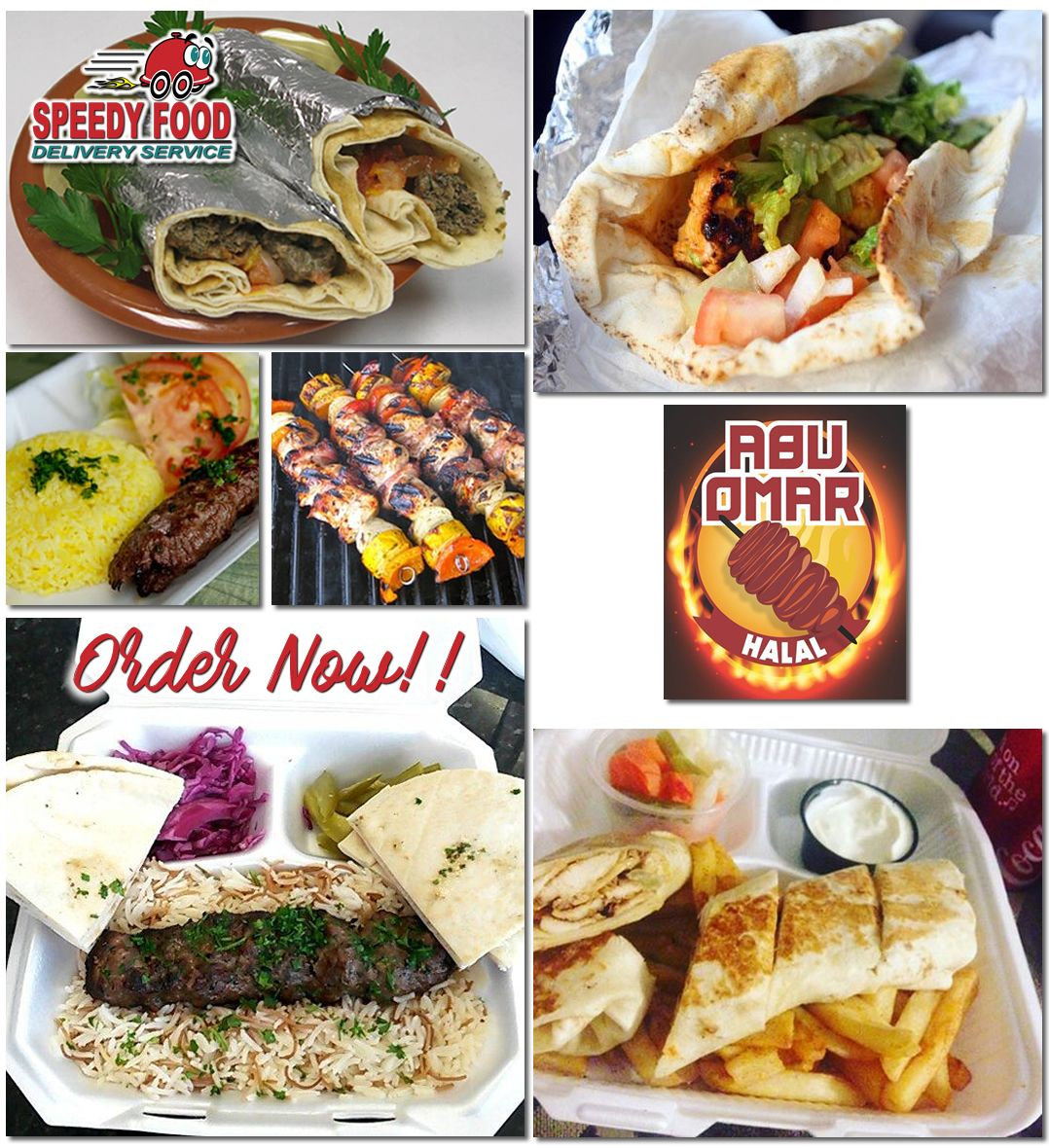 Abu Omar Halal Is A Halal Food Truck That Specializes In Arab Food Their Menu Ranges From Shawarmas Kabobs Falafel And Gyro Sand Food Food Net Halal Recipes