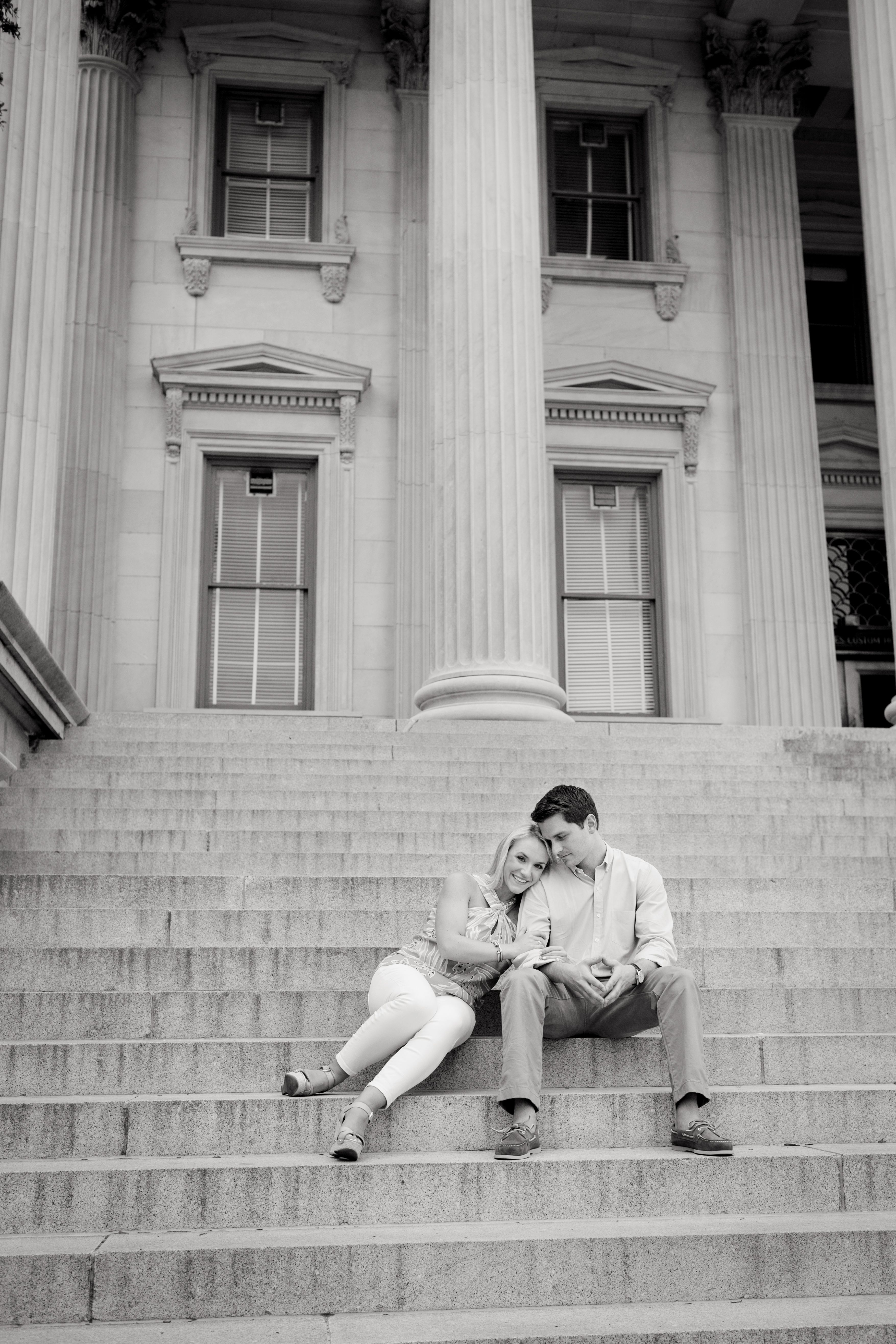 Plum Pretty Photography | Colorado Wedding Photography | Engagement Photos | Black & White Photos