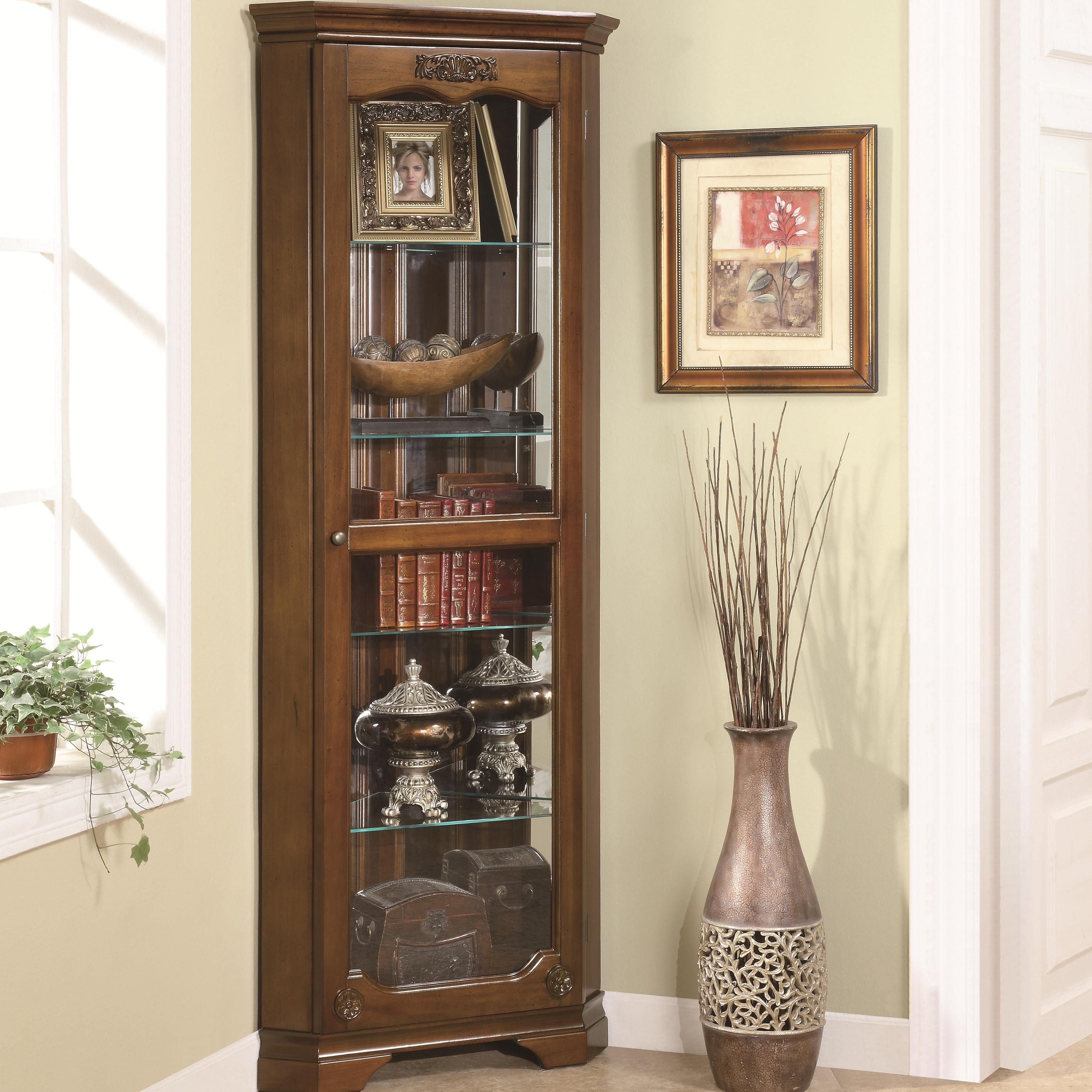 Curio Cabinets Corner Curiocoaster  Great Room  Pinterest Classy Living Room Corner Furniture Designs Design Decoration
