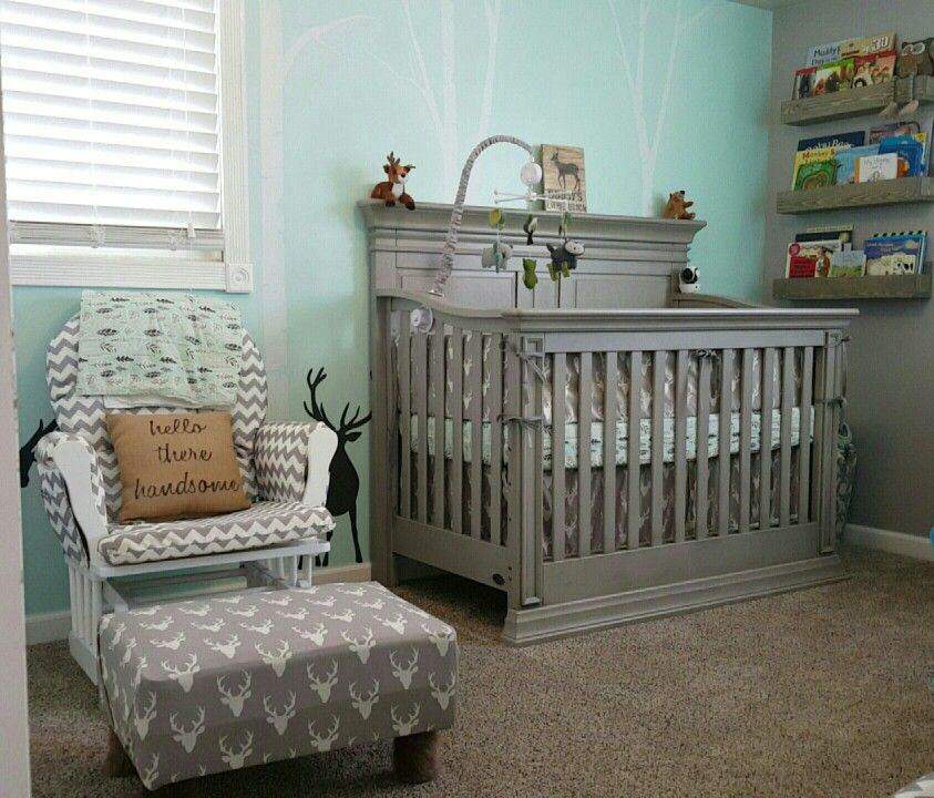 Rustic Deer Nursery Home Decor Baby Boy Nurseries