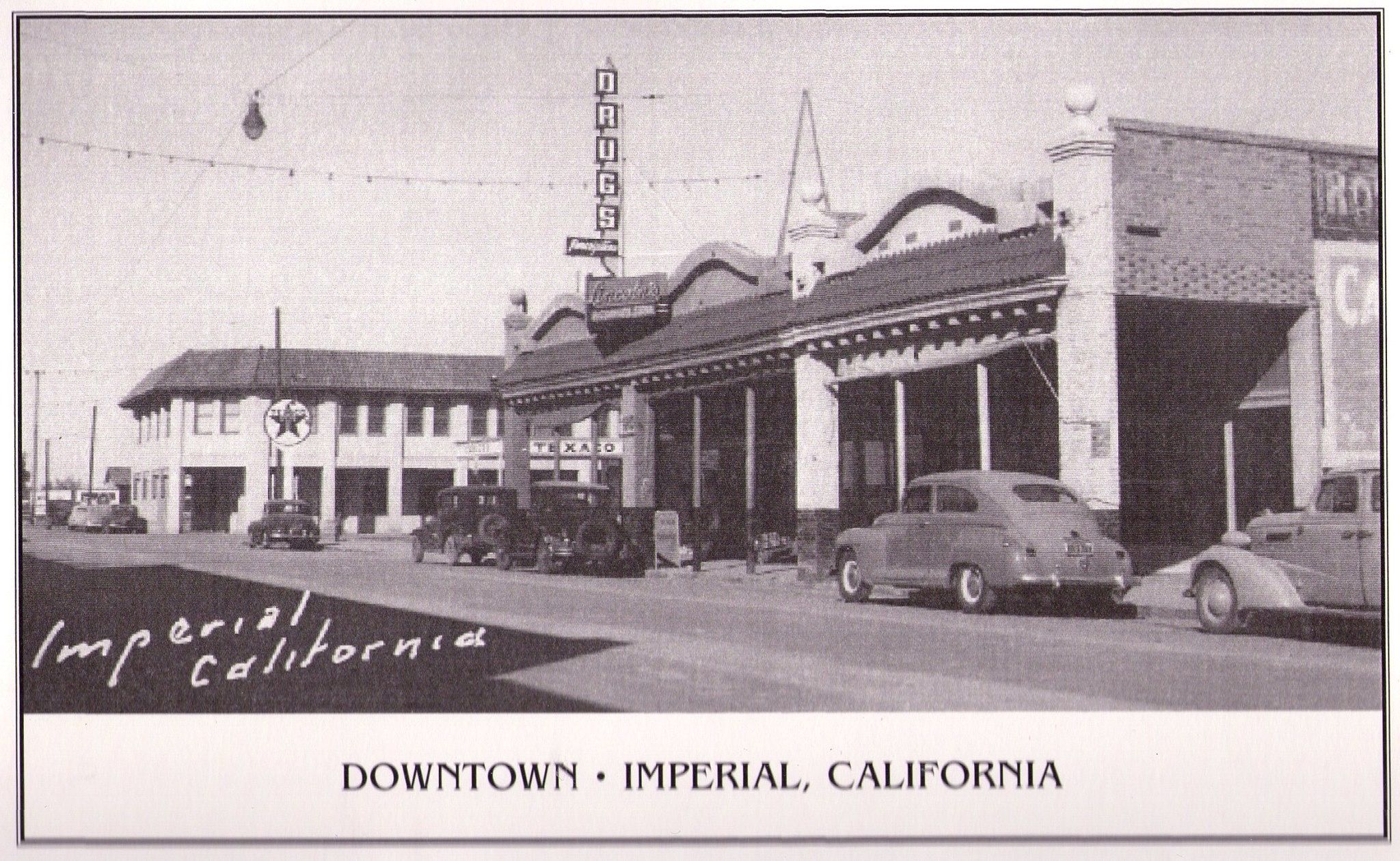Down Town Brawley CA BRAWLEY CA My hometown