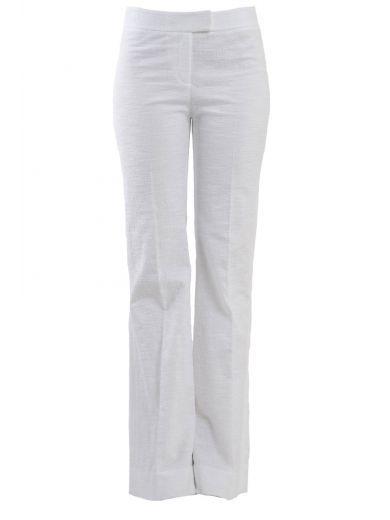 DIANE VON FURSTENBERG Diane Von Furstenberg Flared Pants In Cotton. #dianevonfurstenberg #cloth #pants-shorts