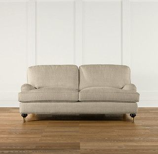 72 Inch English Roll Arm Upholstered Sofa Modern Sofas By Restoration Hardware