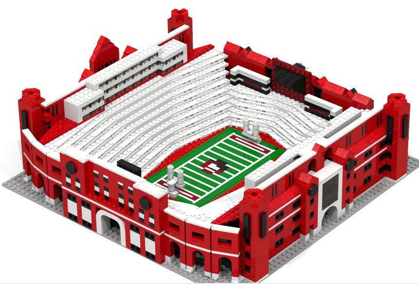 Florida State's Doak Campbell Football Stadium Brick model (500.00 ...