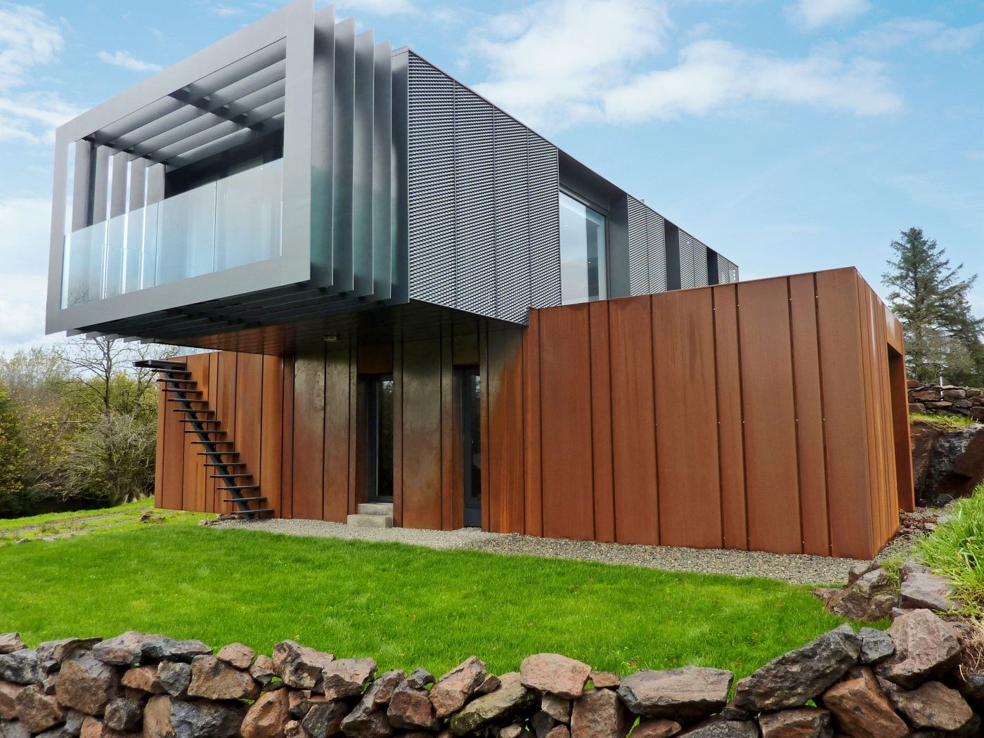 Grand Designs Shipping Container Home By Patrick Bradley With
