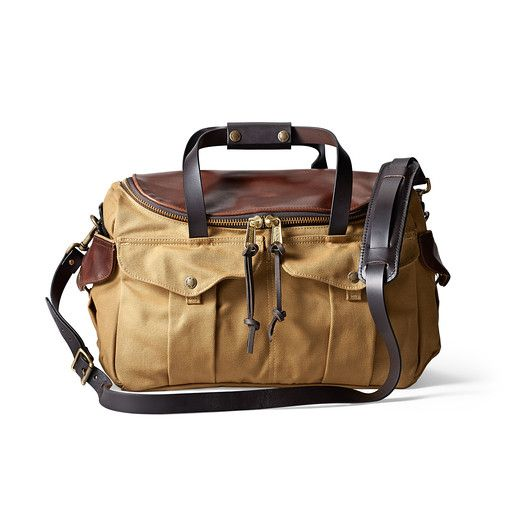 Filson Just Released The Highly Limited Heritage Sportsman Bag With Leather Finish