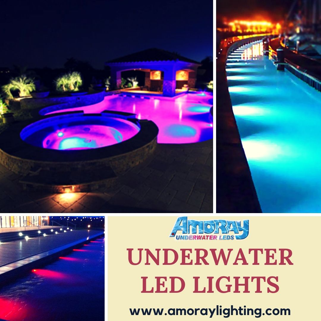 Transform Your Swimming Pool Or Pond Into An Alluring Focal Point For Evening Guests To Admire With Amoray Underwat Inground Pool Lights Underwater Led Lights Underwater