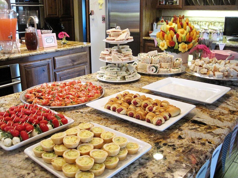 Best Baby Shower Finger Foods Ideas On Baby Shower, Baby Shower