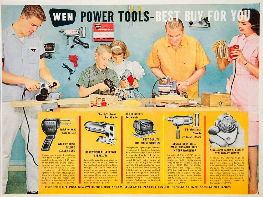 Pin On Vintage Tool Ads