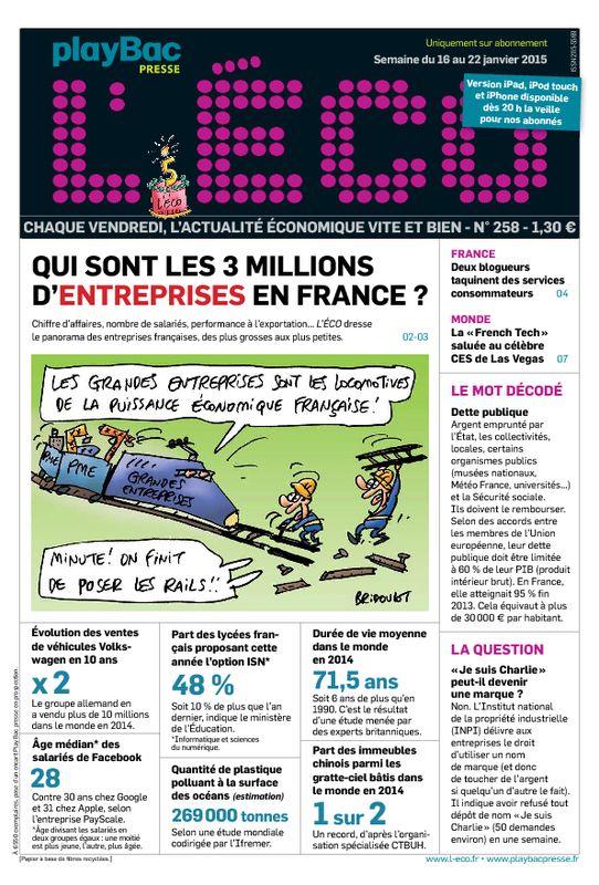 L Eco Le Seul Journal D Actualite Pour Les Jeunes Des 14 Ans